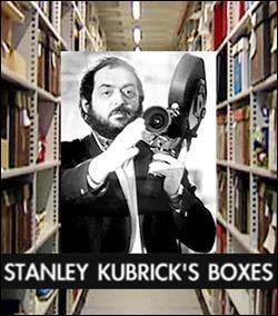 2006 documentary ______________________________ https://en.wikipedia.org/wiki/Stanley_Kubrick's_Boxes https://www.theguardian.com/film/2004/mar/27/features.weekend