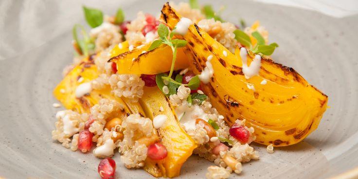 Fennel and orange quinoa salad recipe