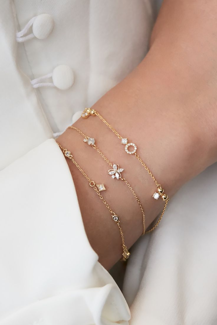 Rue Gembon Ayla Gold Bracelet – Bijoux