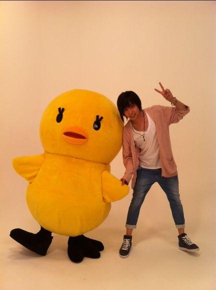 Aoi Shouta and Piyo-chan!!!