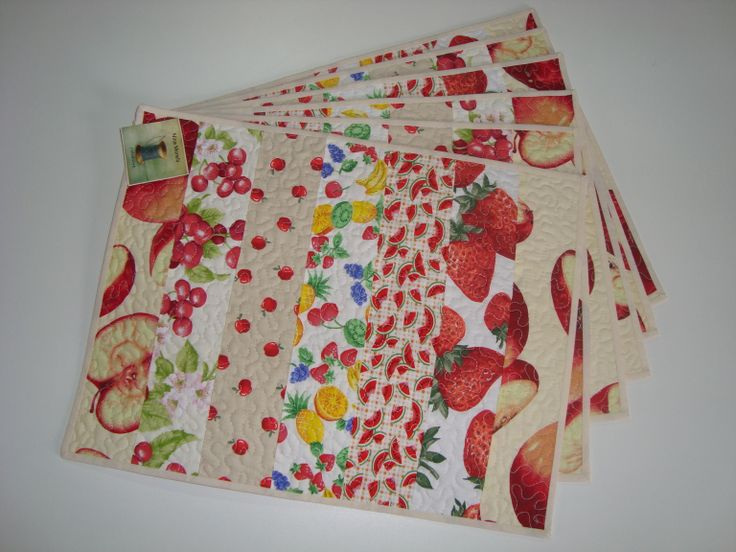 139 Best Images About Placemats Napperons On Pinterest