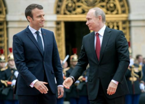 French President Macron Calls Russian State Media 'Propaganda' at Joint Presser with Putin (VIDEO) - http://www.loudread.com/2017/05/30/french-president-macron-calls-russian-state-media-propaganda-at-joint-presser-with-putin-video/