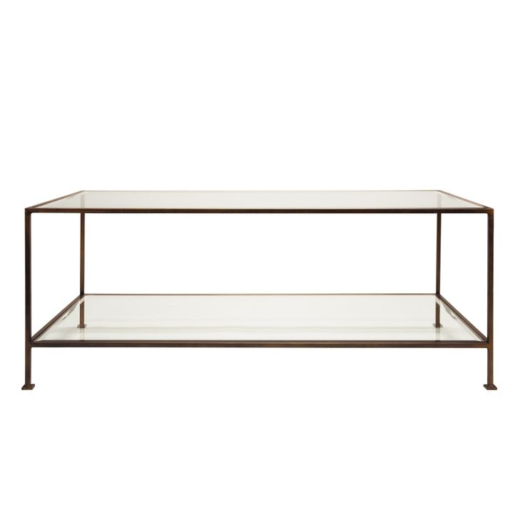 TAYLOR COFFEE TABLE BRONZE