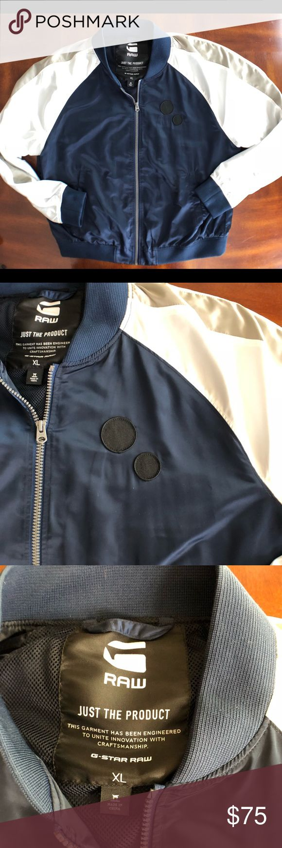 G-Star satin Bomber jacket Men's G-Star Raw retro style satin Bomber jacket very nice used condition. Very hard to find piece, looks and feels amazing G-Star Jackets & Coats Bomber & Varsity
