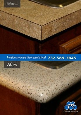 Don't replace - refinish! : If you are looking for affordable countertop refinishing solutions in Toms River, NJ, call Miracle Method of Toms River. We refinish countertops and save you time and money!