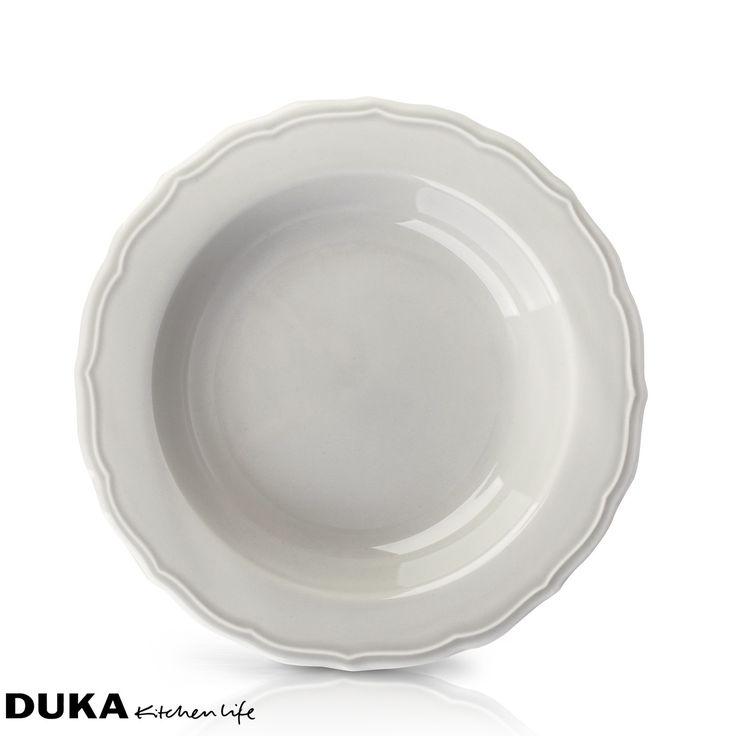 Talerz głęboki szary:średnica: 23 cmmateriał: ceramikamożna myć w zmywarcenie należy długo moczyć