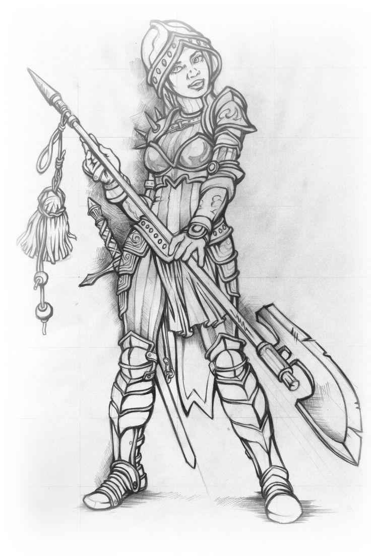 Guard girl