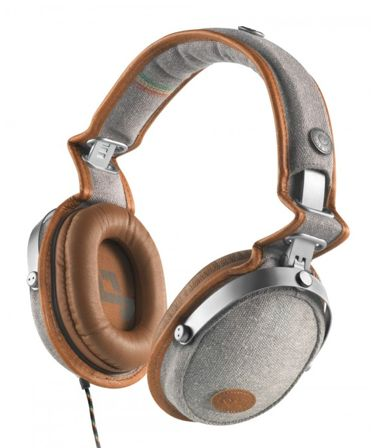 House of Marley Rise-Up over-the-ear headphones - eco-friendly + support an awesome cause.