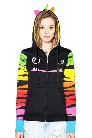 I know I'm 26 but .... Mad Dog Tiger Sleeves Hoodie