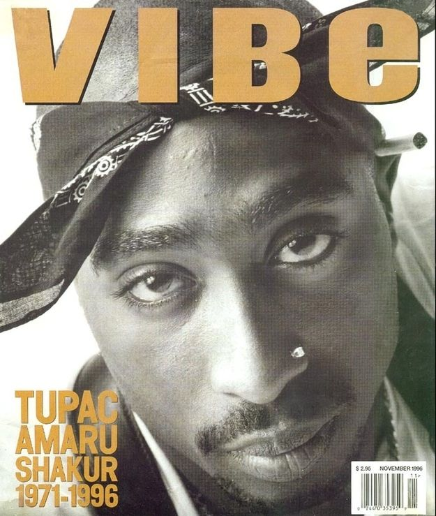 Tupac Shakur (November 1996) | 20 Vibe Magazine Covers That Perfectly Define The '90s