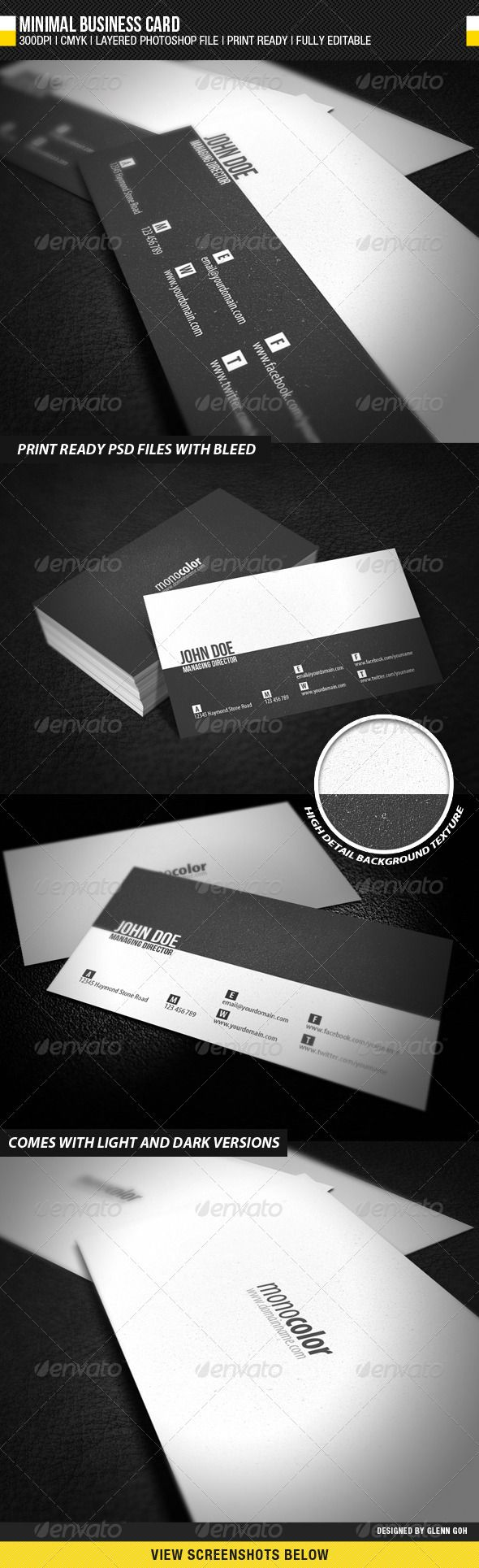 605 best business card template images on pinterest business minimal business card alramifo Images
