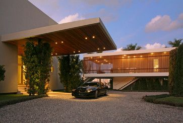 Wow!Please advise who did the awesome steel work on the porte cochere. - Houzz