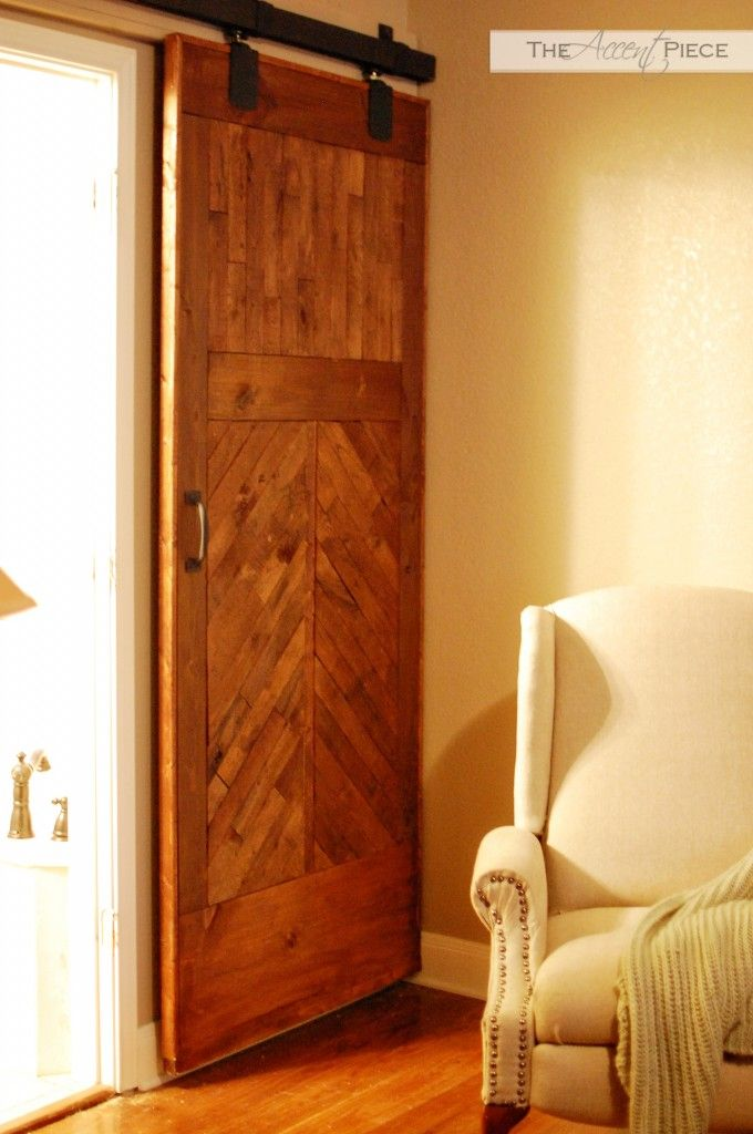 25 best ideas about barn door track system on pinterest - How to install an exterior sliding barn door ...
