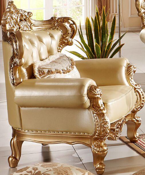 Sofá de couro clássico sofá de design especial com couro ...