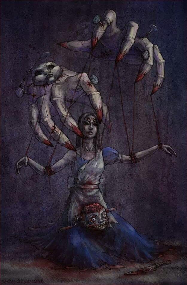 Dark Alice Puppet