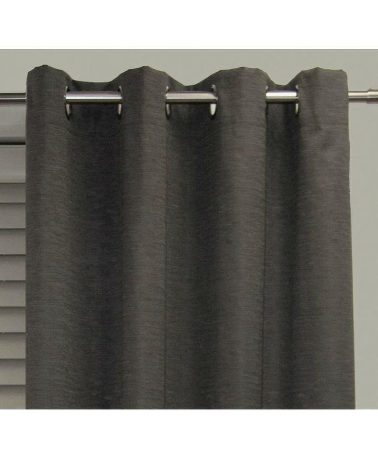 Blockout Hilton - Carcoal #curtains