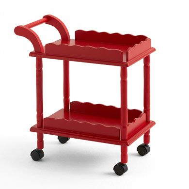 Time for Tea Trolley, Red