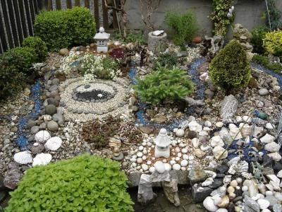 127 best miniature gardens images on pinterest miniature for Gartengestaltung 100 qm