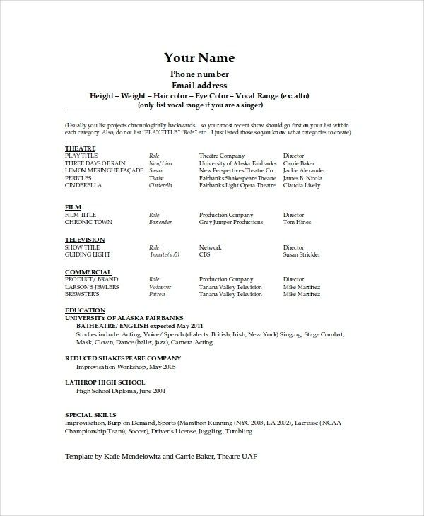 Inspiring Technical Theatre Resume Template Pictures Theatre Resume Burgebjgmc Tb Technical Theatre Resume Template Here Is Inspiring Technical Theatre Resume Di 2020