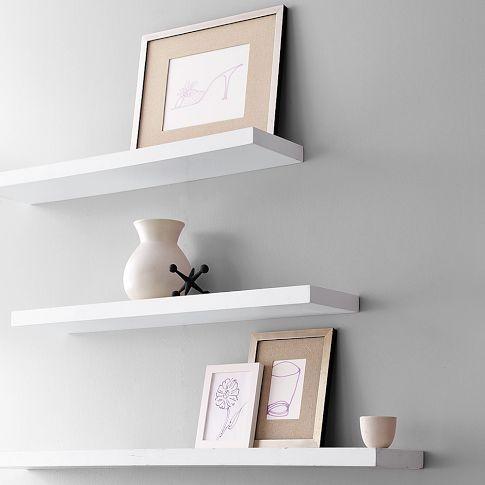 West Elm Floating Shelves 22 best family photos display images on pinterest | photo displays
