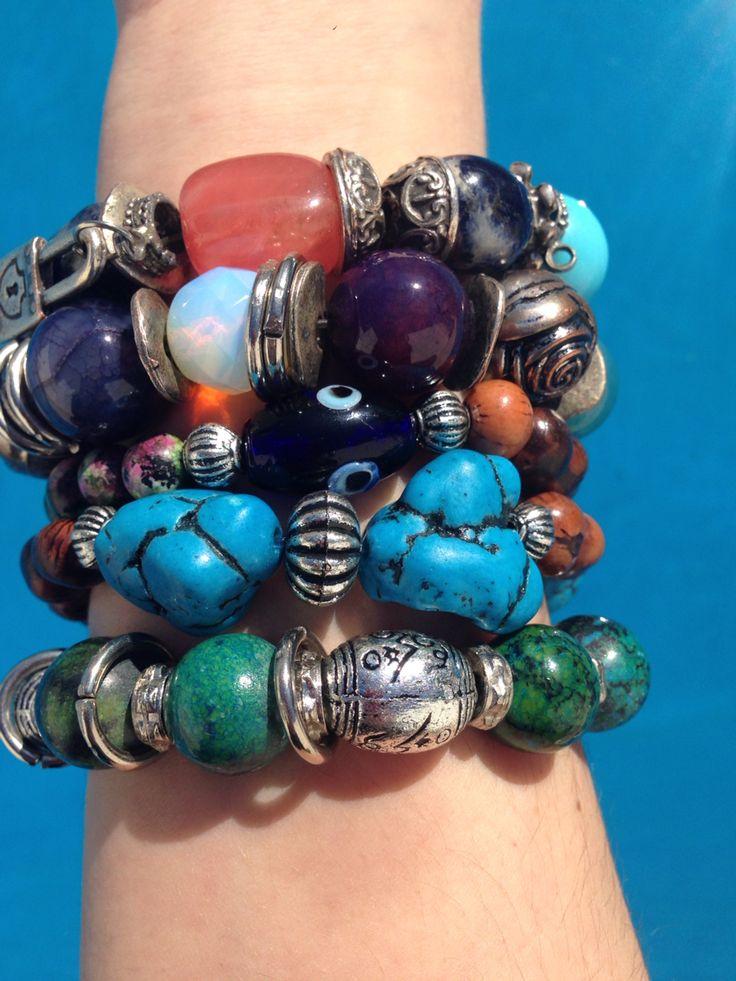 Kilimanjaro Bracelets ☮ Pulseras de piedras gemas y semillas ♡ Bohemian Style Bracelets ☮ Hace tu pedido online ♡ Anticipo PV' 15/16 ☮ Harmony GQ