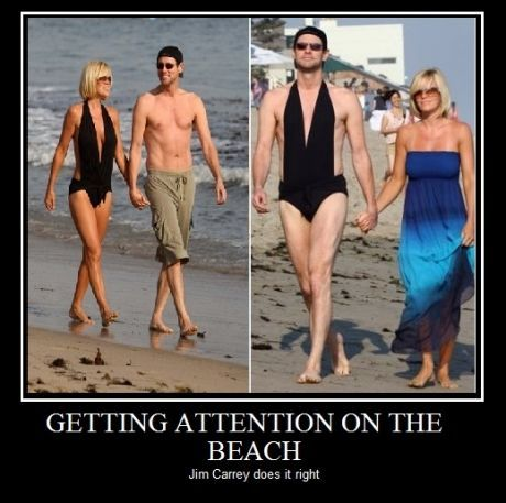 Jim Carey. So wrong... but so funny!!!! :'D