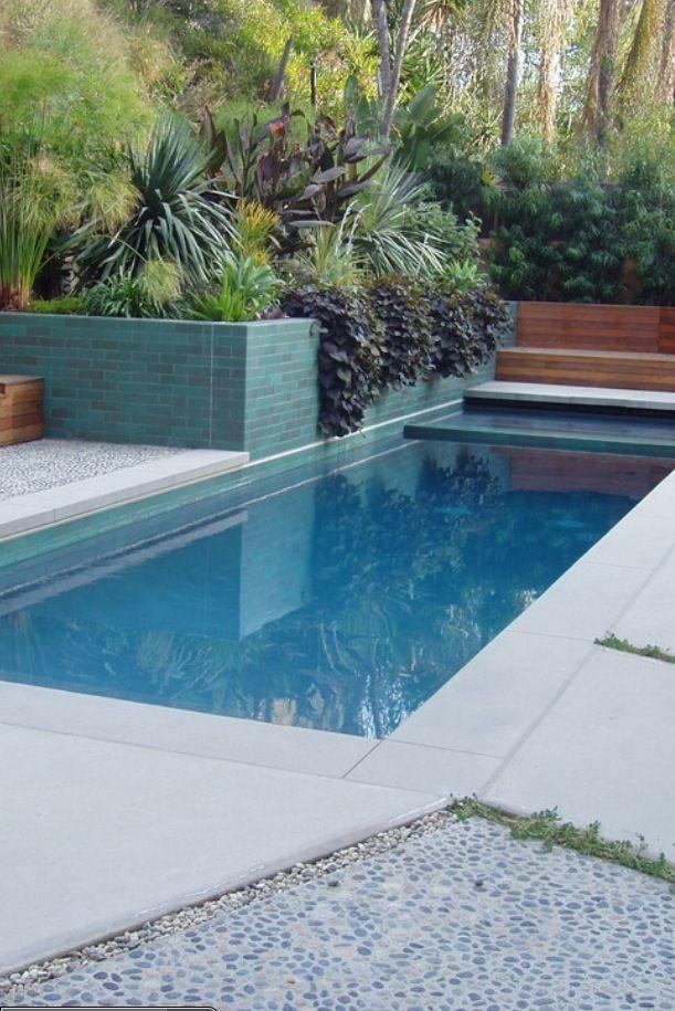58 best Pool images on Pinterest Swimming pools, Swiming pool and - gartengestaltung reihenhaus pool