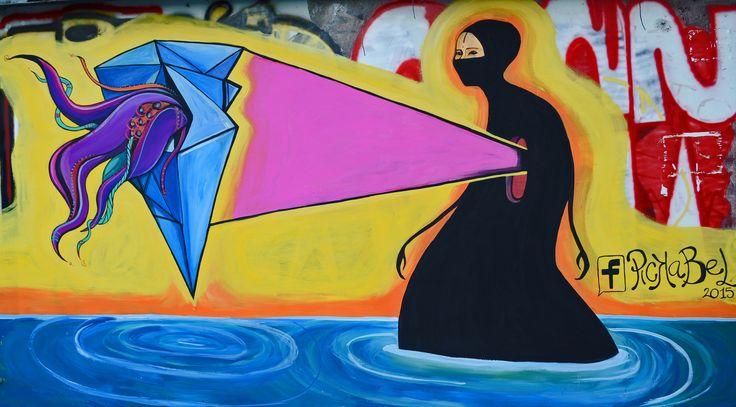 https://flic.kr/p/wAHr1N   Pintadita en la cuadra   Mural pintado el domingo pasado en las calles de Buenos Aires