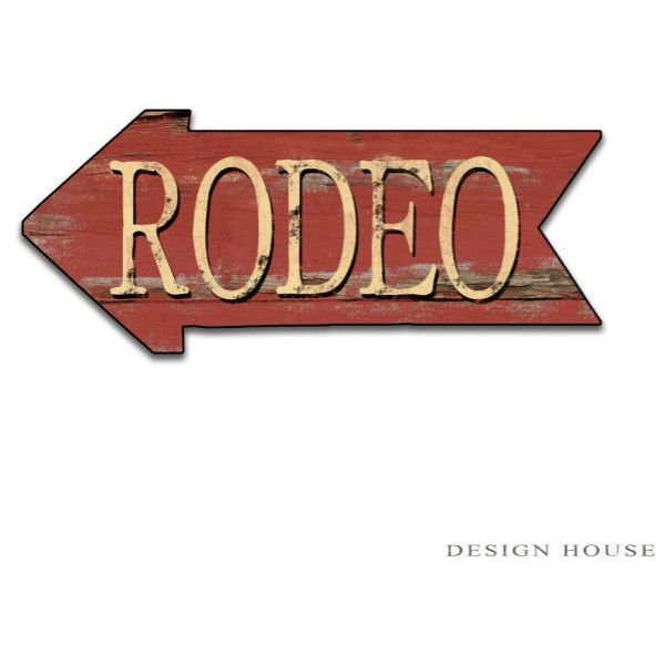 Rodeo Red Sign Rodeo Decor Cowboy Decor Cowgirl Wall Decor Ski Rodeo... ($40) ❤ liked on Polyvore featuring home, home decor, wall art, quotes, signs, western, grey, home & living, home décor and wall décor