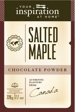 Salted Maple Chocolate Powder #yiah #chocolate
