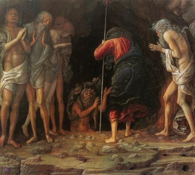 Descenso al limbo de 1492 - Andrea Mantegna