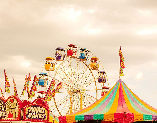 The Fair, 3rd Wknd in August, it's nostalgic, it's gorgeous, it's like being a child again.