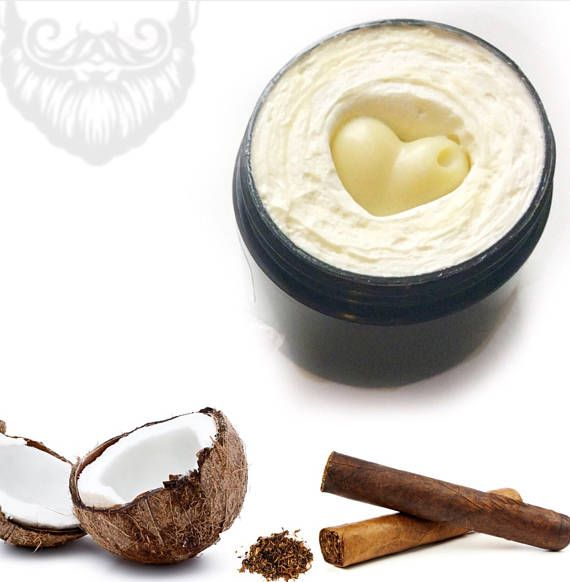 Coconut Cigar Beard and Body Butter Skin Care Kit for Men by Love and Shea