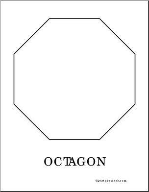 Number Names Worksheets octagon shape pictures : 1000+ images about Shapes on Pinterest
