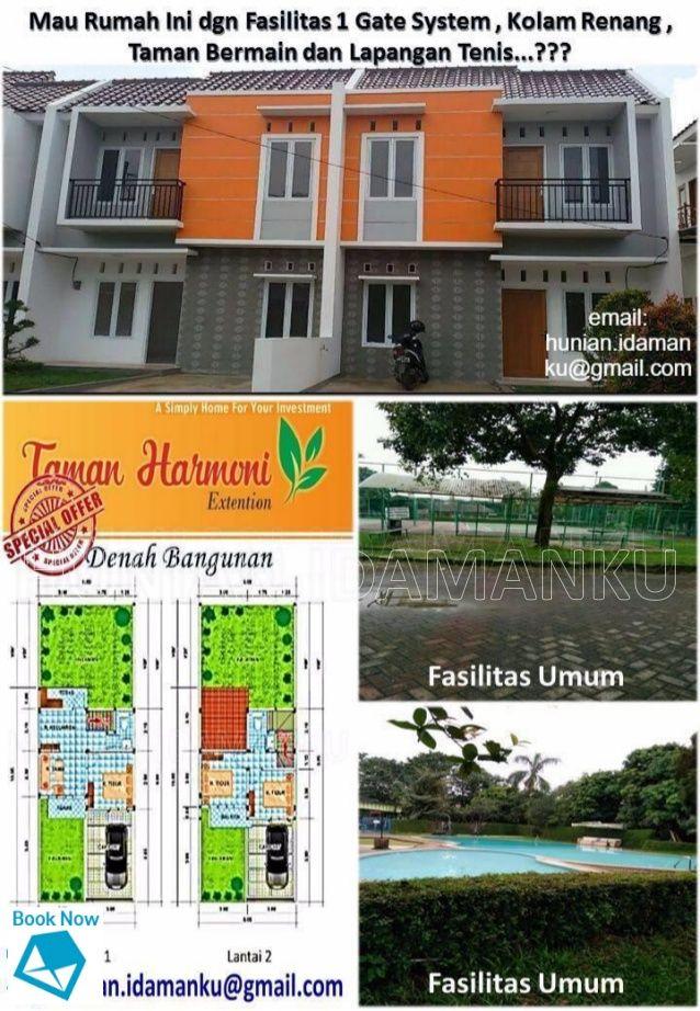 Fasilitas Umum  Fasilitas Umum  Mau Rumah Ini dgn Fasilitas 1 Gate System , Kolam Renang ,  Taman Bermain dan Lapangan Tenis....