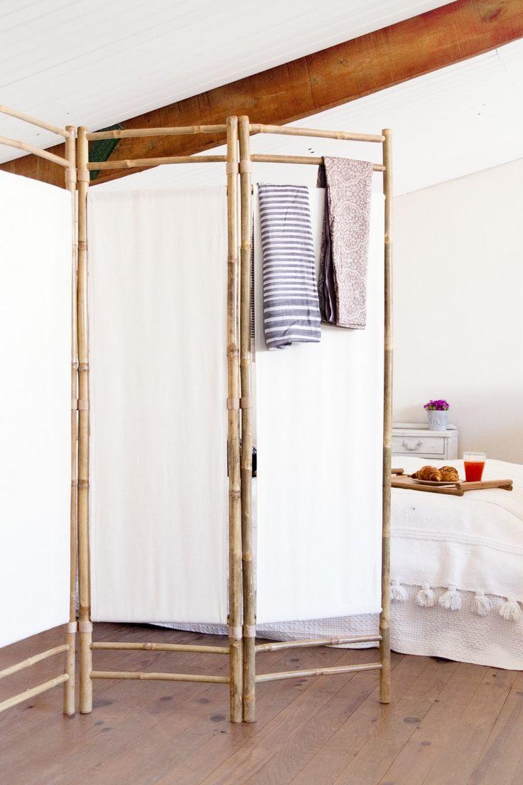 Biombo de bambú de muy mucho