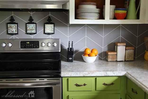 Grey Plasic To Stick On Kitchen Cupboards