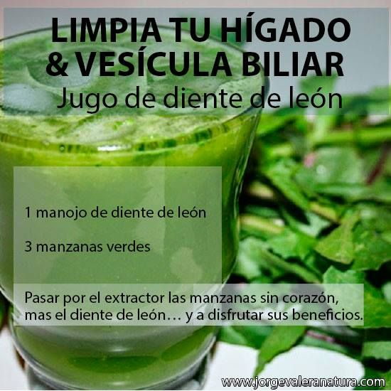 Para limpiar el higado /Clean the Liver gallbladder 1- garlic clove and 3 green apples