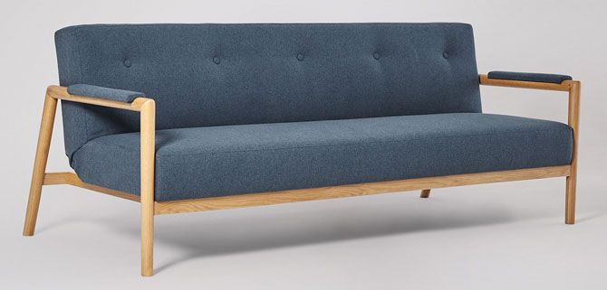 Darcy Scandinavian-style sofa bed at Swoon Editions ...