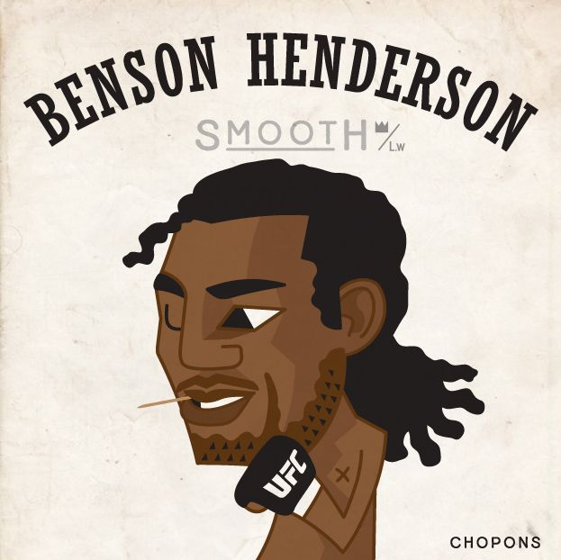 Benson Henderson!! I'm always cheering for you!! - illust by CHOPONS