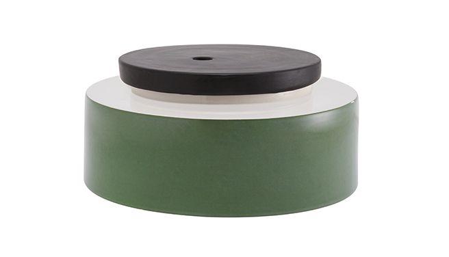 vaso Silos verde / ceramica /