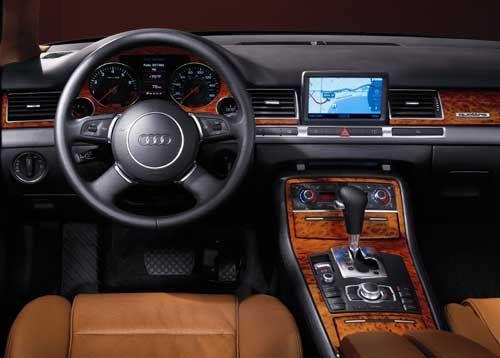 Audi A8 Interior Sumptuous