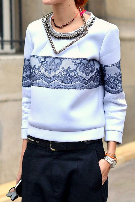 Spring 2014 Inspiration Sweater Swag NYFW SPRING 14 | Hot fashion and you: