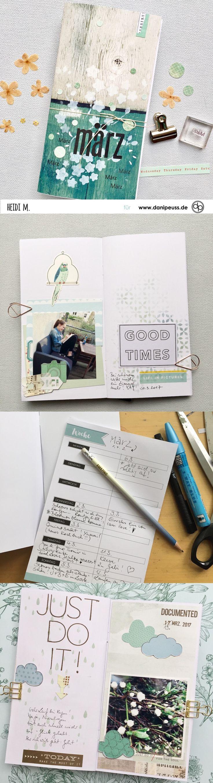 viele tolle Tipps für das Memory Keeping im danidori Memory Notebook   Tutorial von Heidi für www.danipeuss.de