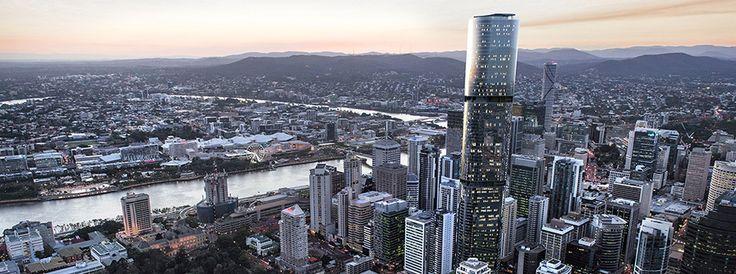 Brisbane SkyTower in Mary Street is set to be the tallest tower in Brisbane and one of the tallest residential buildings in Australia.