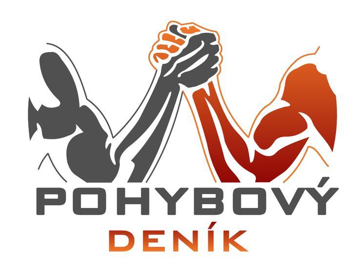 Pohybový deník, logo projektu on Behance