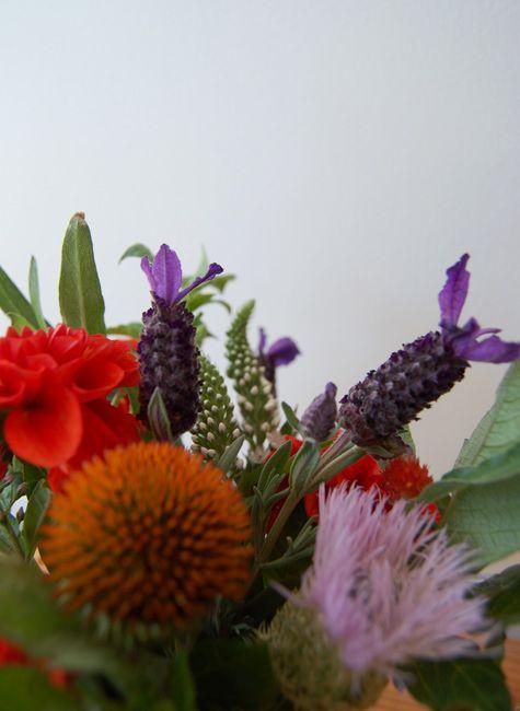 "Spanish lavender bouquet from ""we like it wild: lavender"" Design*Sponge"