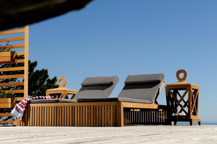 The Serengeti double sun-lounger. Just gorgeous..