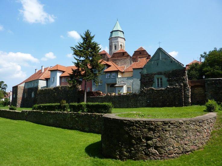 Kozuchów, medieval town western Poland with beautiful city walls.