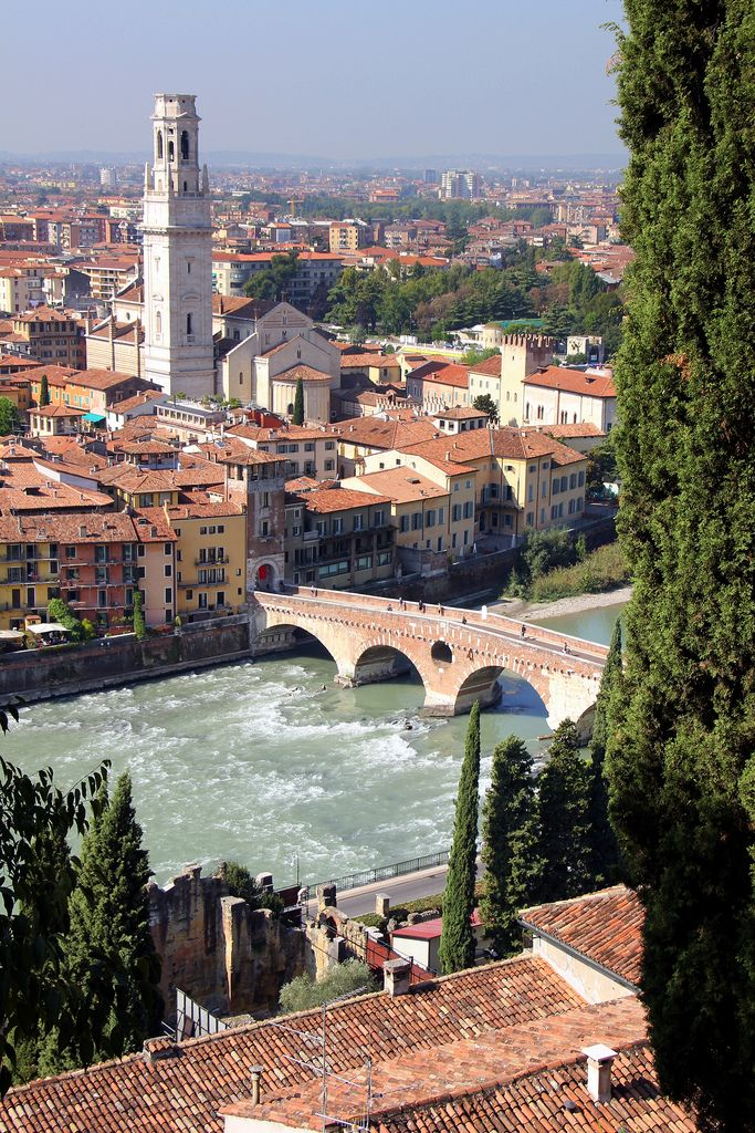 Verona, probably one of the nicest places I've ever been